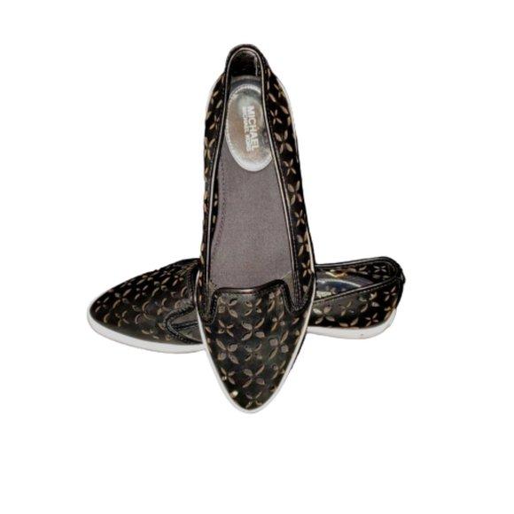Michael Kors Olive Slip On Loafer
